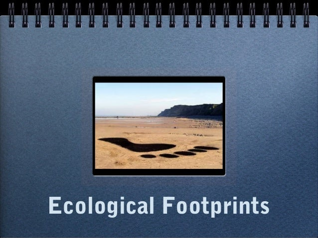Ecological footprint powerpoint