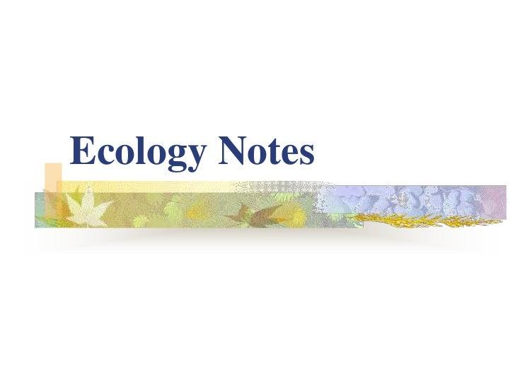 Ecology chpter 9 10