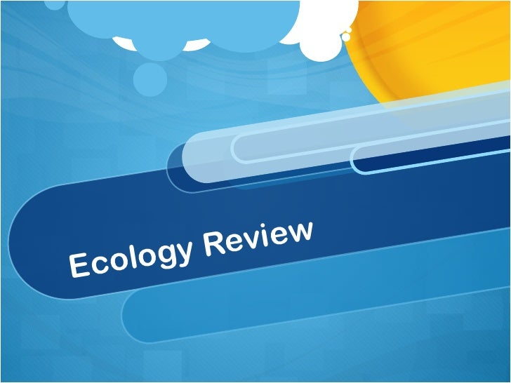 Ecology review2