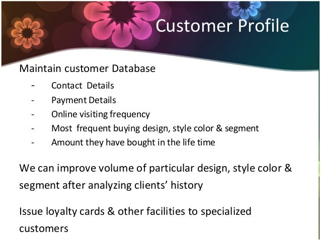 Business plan for online boutique
