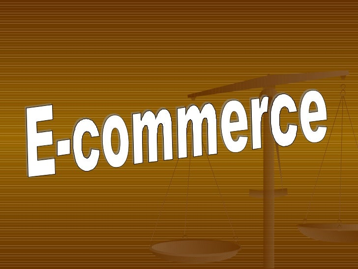 Ecommerce                (e-commerce)   Is the purchasing, selling, and exchanging of    goods and services over compute...