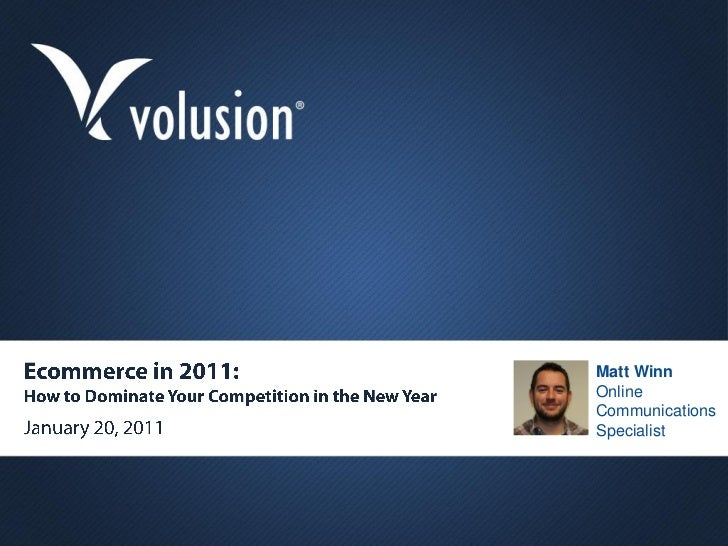 Ecommerce in 2011