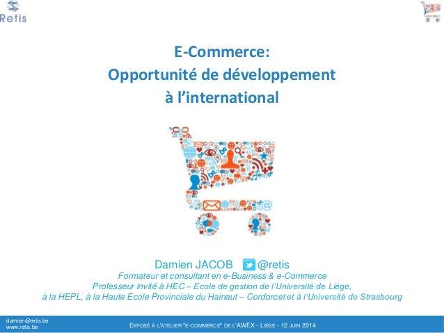 Ecommerce international