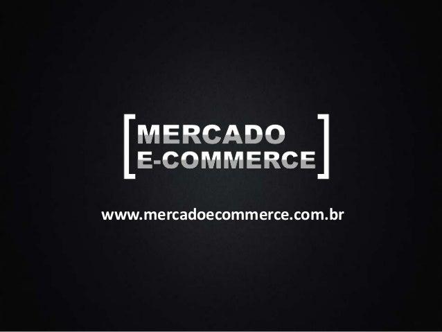 Mercado E-commerce Brasil