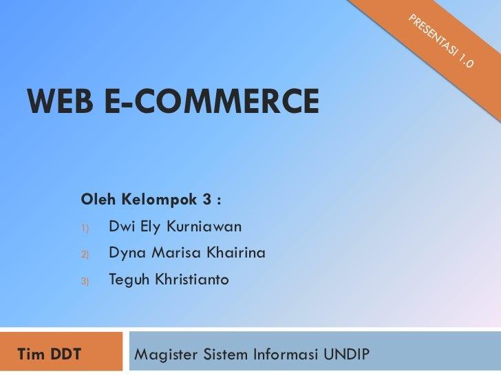 Building eCommerce