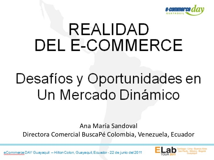 Ana María SandovalDirectora Comercial BuscaPé Colombia, Venezuela, Ecuador