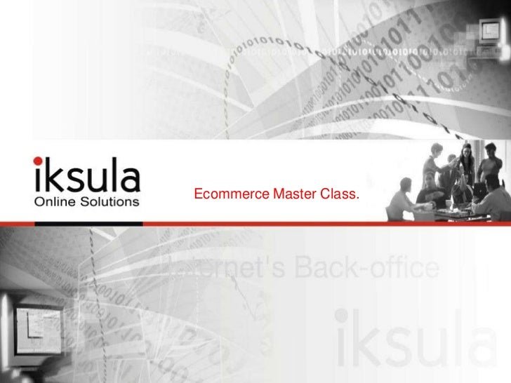 Ecommerce Master Class Course