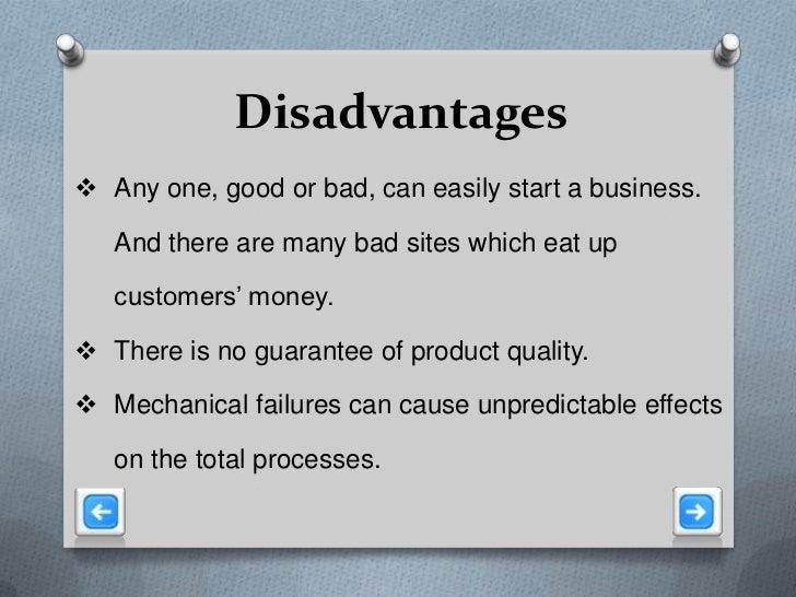 Advantages & Disadvantages of eCommerce Retailing
