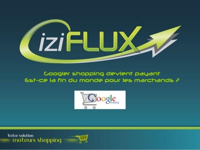 Googler shopping devient payantEst-ce la fin du monde pour les marchands ?