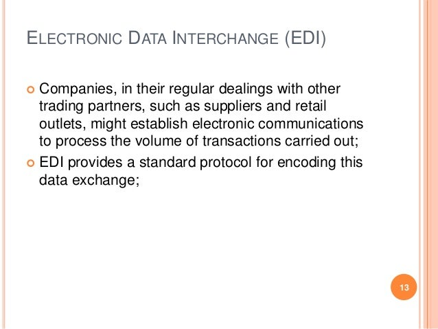 research paper on electronic data interchange