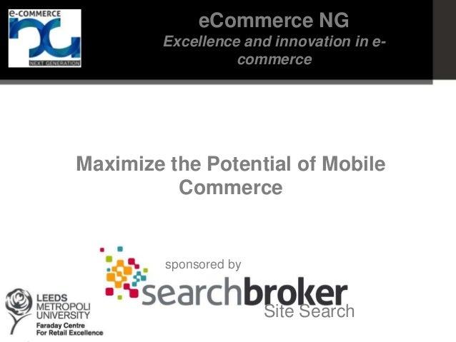 eCommerce NG: Maximize the potential of mobile commerce (1)