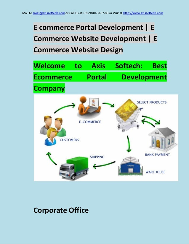 Mail to sales@axissoftech.com or Call Us at +91-9810-3167-88 or Visit at http://www.axissoftech.com  E commerce Portal Dev...