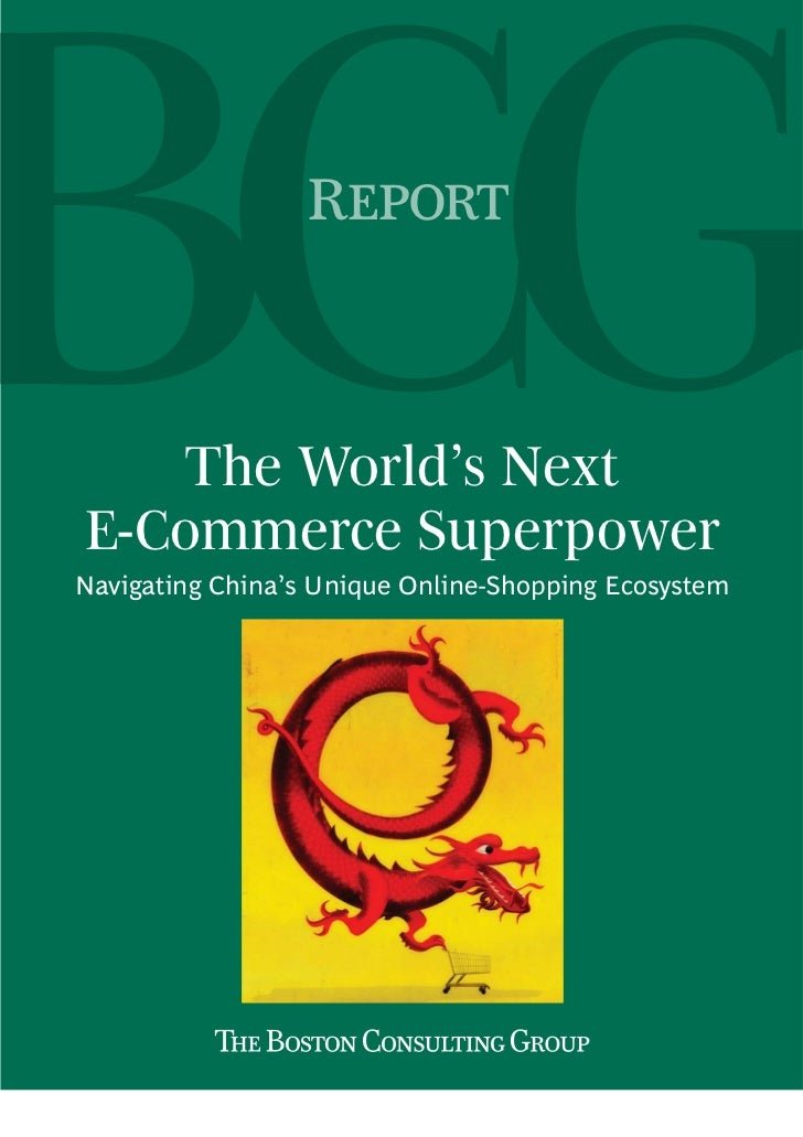 China: The World's Next E-Commerce Superpower