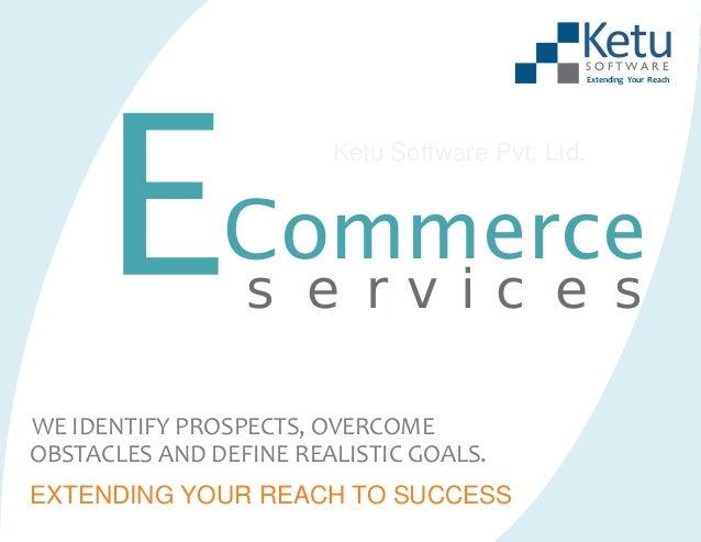 Custom ecommerce services for your enterprise