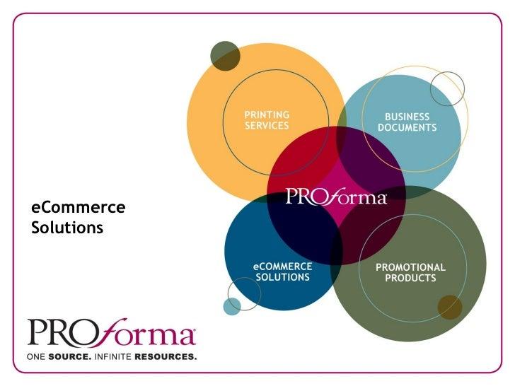 Proforma eCommerce Solutions