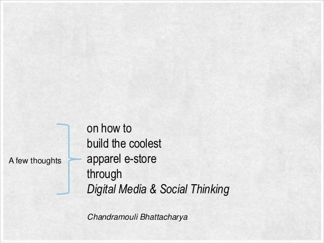 Ecommere social media plan