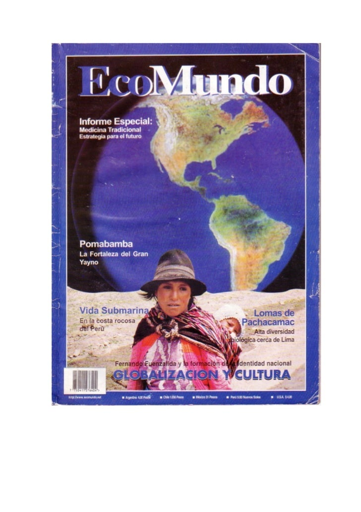 Revista de Medio Ambiente, Ecoturismo, Salud y Tecnología:Ecomundo