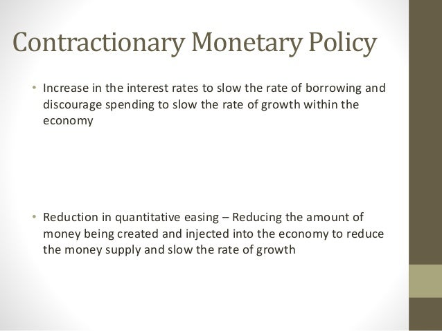 Limitations of monetary policy essays on abortion