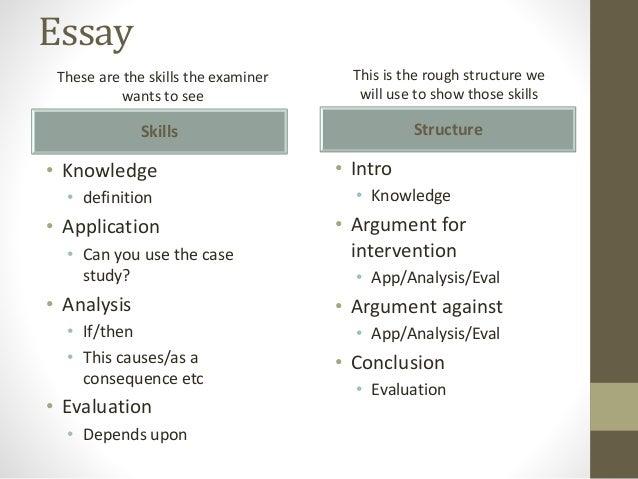 effective arguments essays