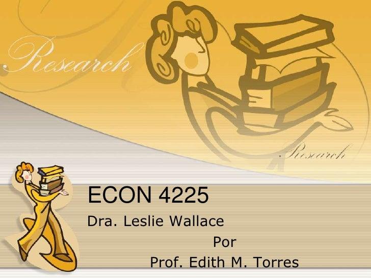 Econ 4225
