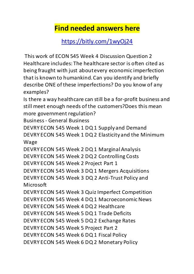 hca 421 week 5 discussion