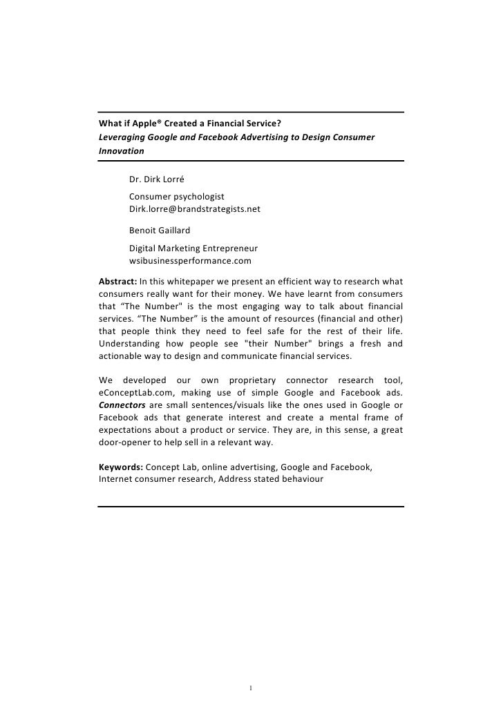 eConceptLab White Paper
