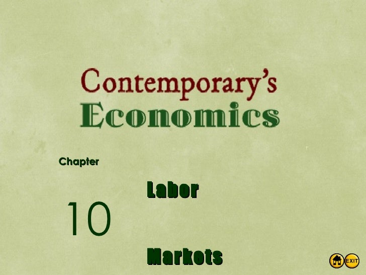 Chapter Labor Markets 10