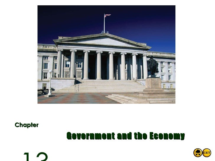 Chapter Government and the Economy 13
