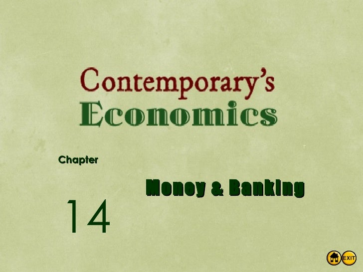 Chapter Money & Banking 14