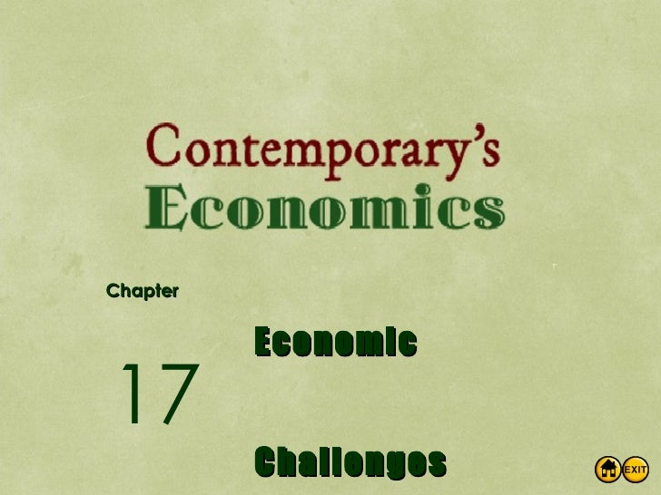 Chapter Economic Challenges 17