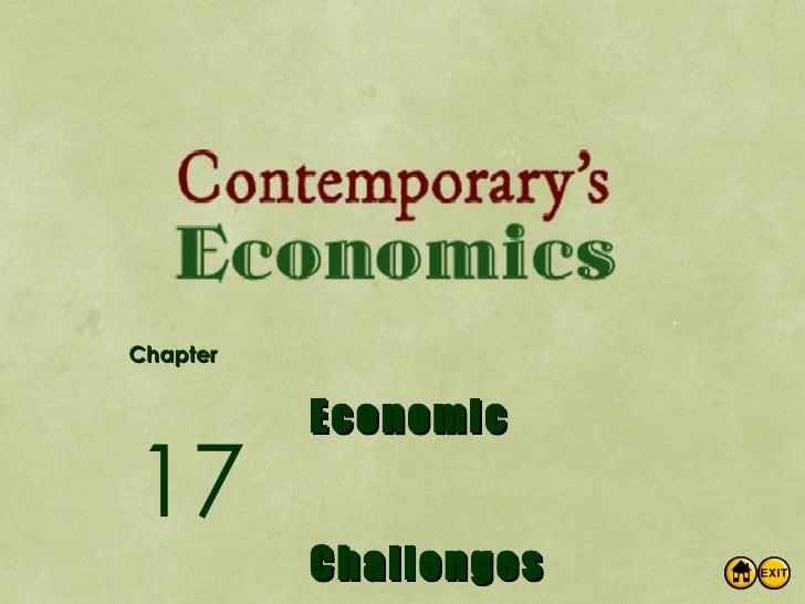 Econ Ch17 Economic Challenges