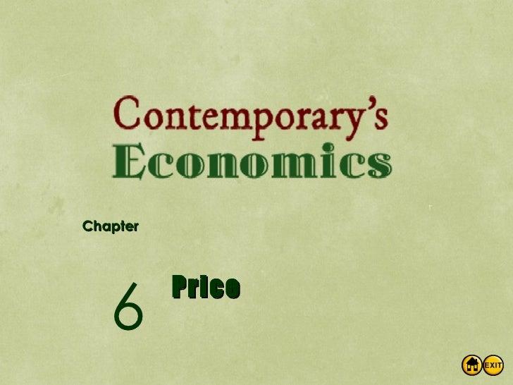 Econ Ch6 Price