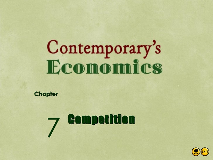 Econ Ch7 Competition