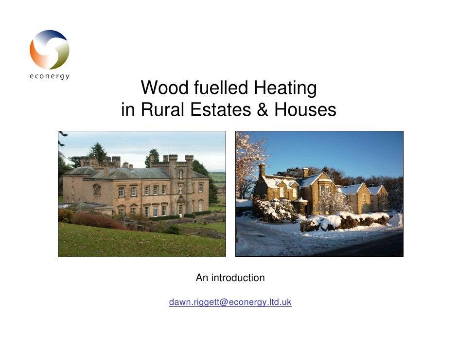 On-Farm Biomass Heating - Chris Miles (Econergy)