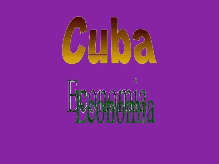 Cuba Economia