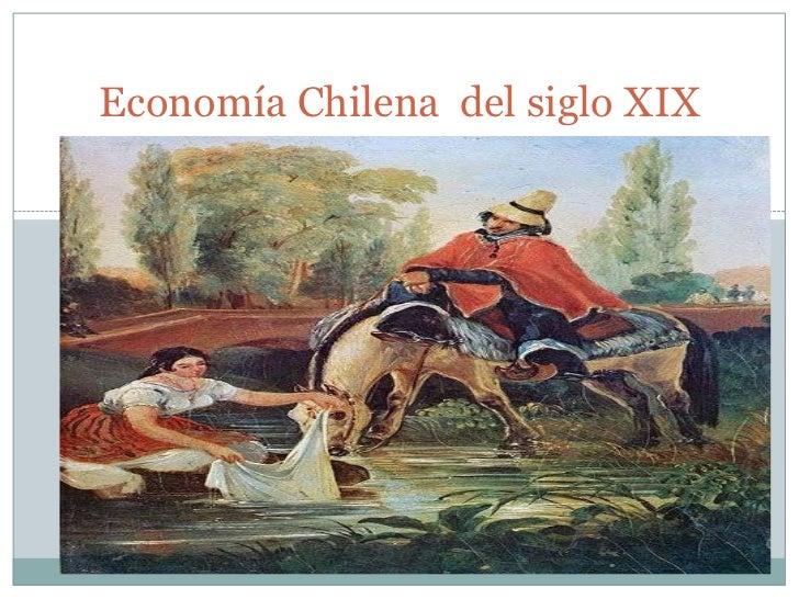 Economía Chilena del siglo XIX