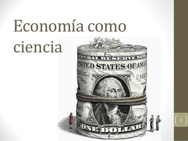 Economía comociencia                1