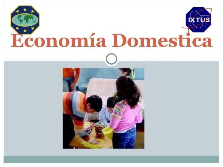 Econom a domestica - Economia domestica consejos ...