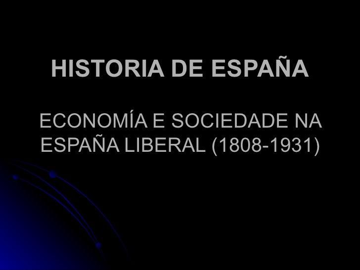 Economía e sociedade do S.XX