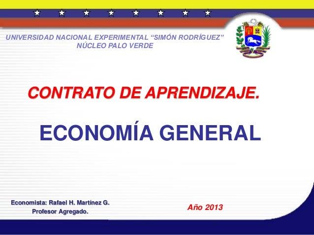 Economía general. 2013
