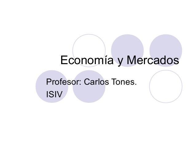 Economías y mercados