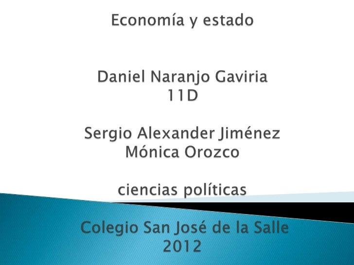 Modelo de estado       Manejo de la           Consecuencia           Tu opinión                        economía   Estado d...