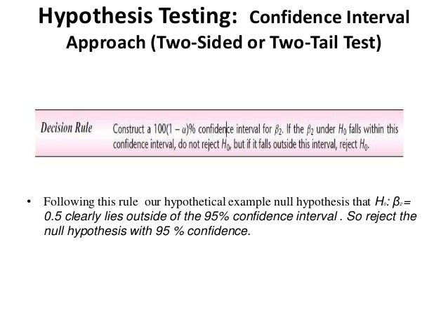 two variable hypothesis testing Two-sample t-test is also known as independent t-test or between-subjects t- test  our althernative hypothesis is that there is difference between the mean   is test scores for all students and the second column is the grouping variables.