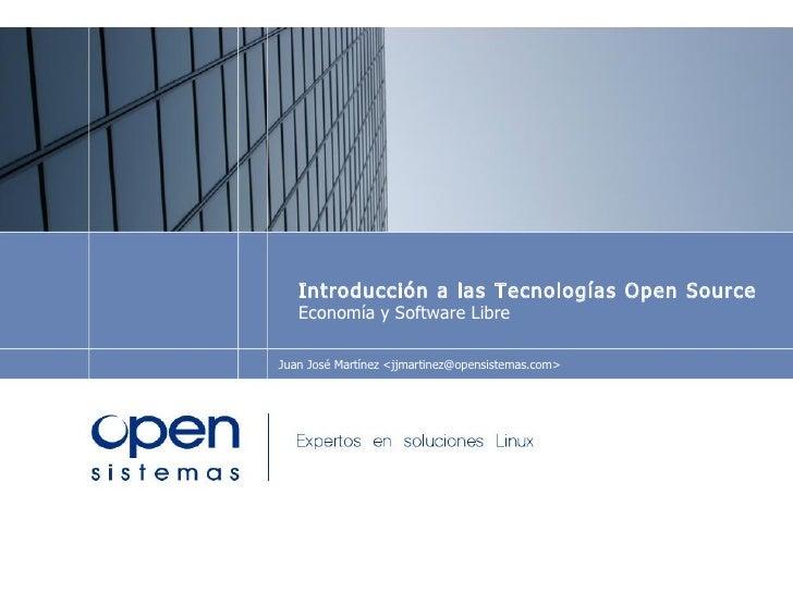 Financiación y modelos de negocio con Open Source