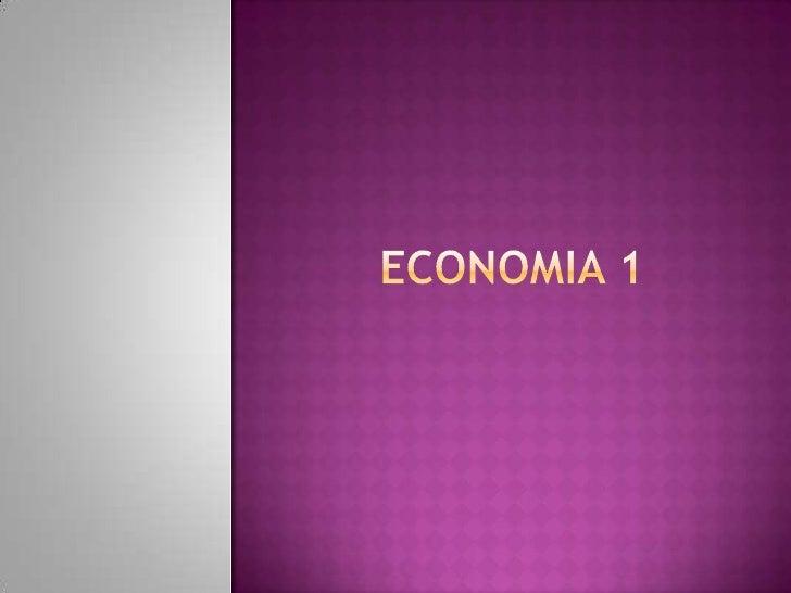 ECONOMIA 1<br />