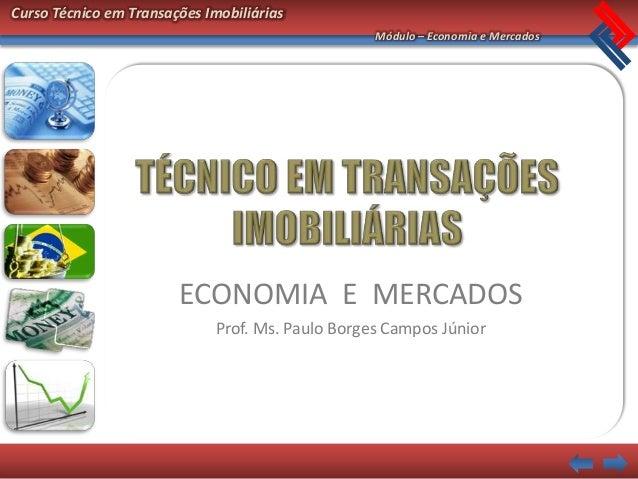 Economia  mercados