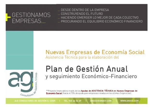 Nuevas Empresas de Economía SocialNuevas Empresas de Economía SocialNuevas Empresas de Economía SocialNuevas Empresas de E...