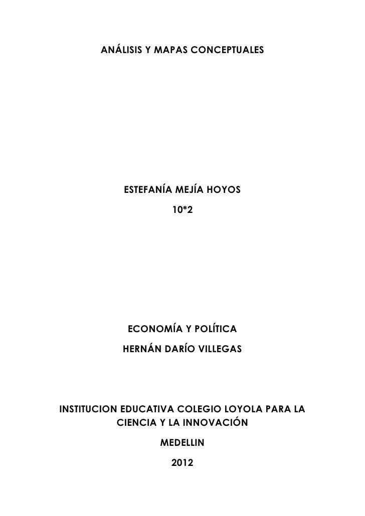 Economia y politica 1