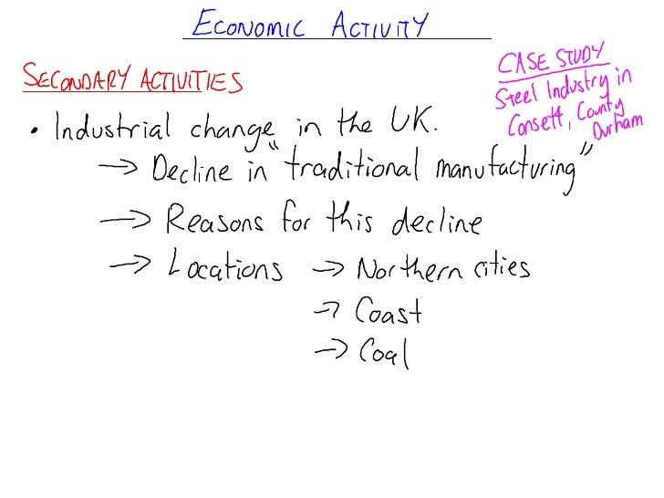 Economic Activity notes