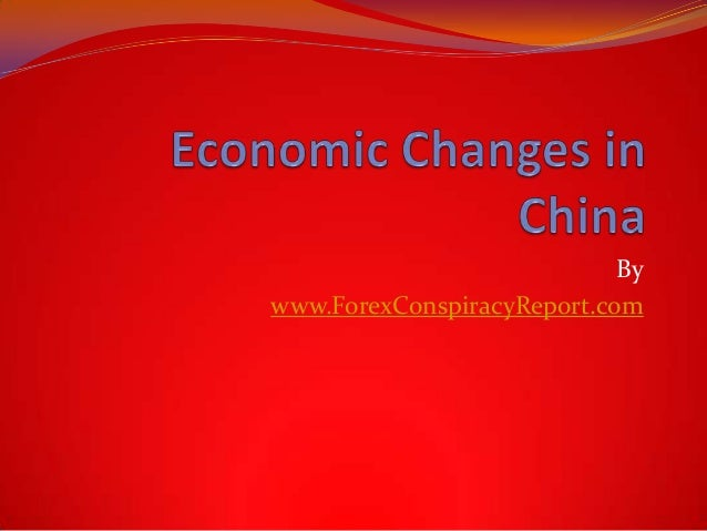Economic Changes in China